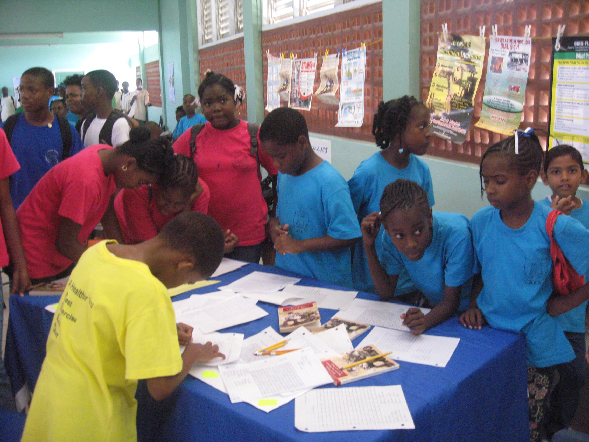 Micoud Primary Students in